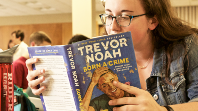 Photo of Comedian's memoir starts campus conversation