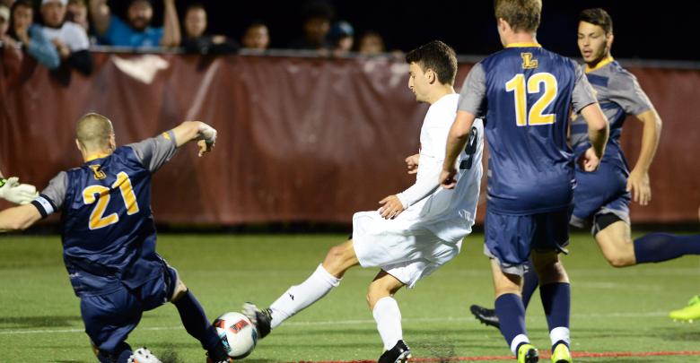 Photo of Men's soccer steals double overtime win at home