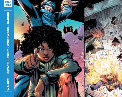 Photo of Professor breaks barriers in the comic book world