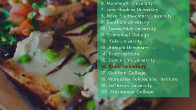 Photo of Rider ranks among top 20 colleges for healthy takeout, Grubhub says