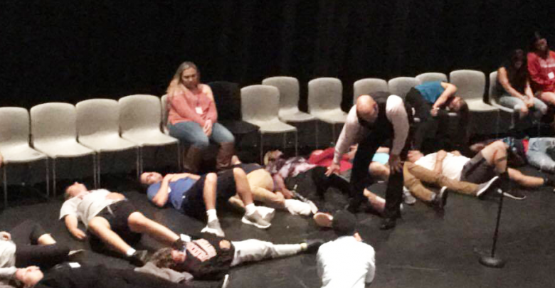 Photo of Body builders, Bond and Beyoncé: Hypnotist Tim Miller leaves audience spellbound
