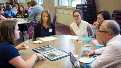 Photo of Portfolio review day offers students real-world experience