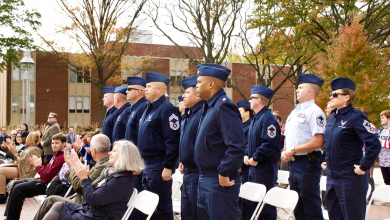 Photo of Service sheds light on veterans' issues