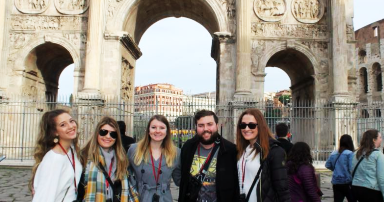 Photo of When in Rome: Students embrace 'breathtaking' sights abroad