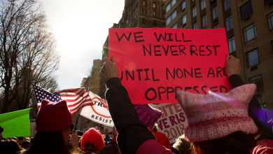 Photo of Marching with resistance in the fight for women's rights