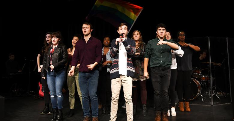 "Photo of Revolt cast lets  their ""Freak Flag"" fly"