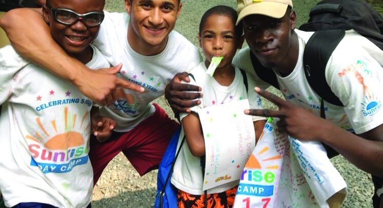 Photo of Summer camp inspires student's nonprofit startup
