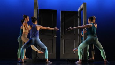 "Photo of From canvas to stage: ""Light and Motion"" performance brings art to life"