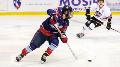 Photo of Johnson gets feel for international puck
