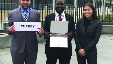 Photo of Model UN thrives as Turkey at NYC competition