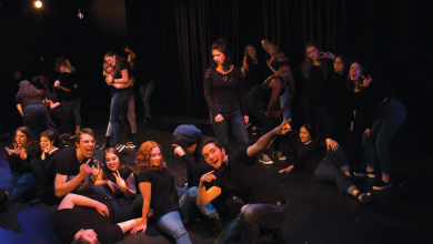 "Photo of The ""Me Too Monologues"" unify, resonate with Rider students"