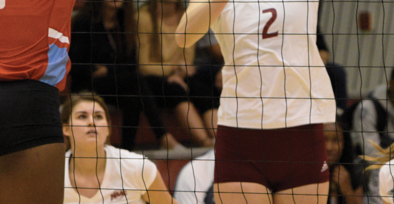 Photo of Broncs spike Purple Eagles in 3-0 victory
