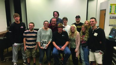 Photo of Students meet Bruce Springsteen's mentors