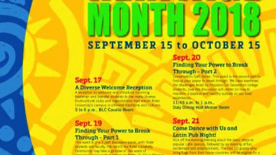 Photo of Hispanic Heritage Month events unify Rider Community