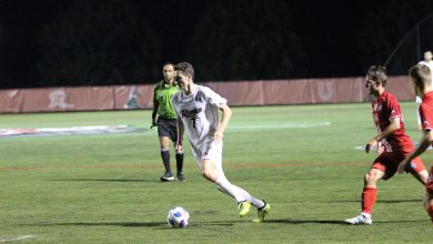 Photo of Flurry of late goals lead Akron past Rider
