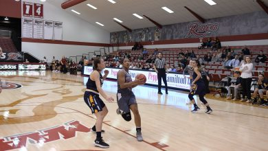 Photo of Johnson's triple-double leads Broncs to first win