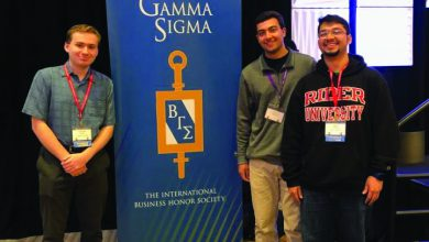 Photo of BGS students visits international conference