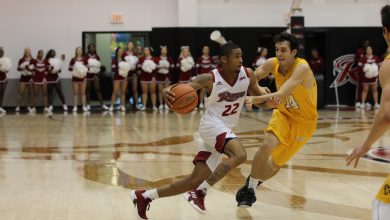 Photo of Allen's late three-pointer gives Rider 2-0 start to MAAC play
