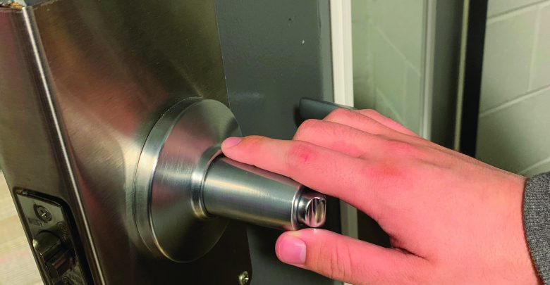 Photo of Security initiative adds locks to classrooms