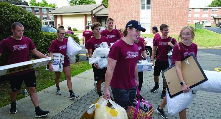 Photo of Welcoming baby Broncs: freshmen get started at Rider
