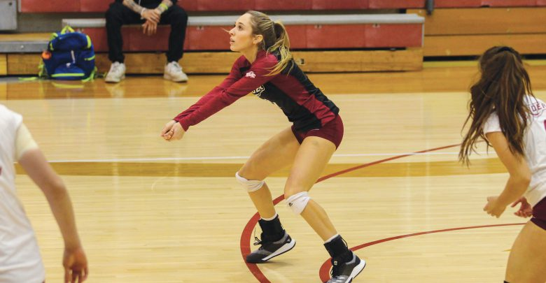 Photo of Volleyball clinches first win at Radford