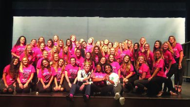 "Photo of Sorority raises funds with ""Mr. Pink"" pageant"