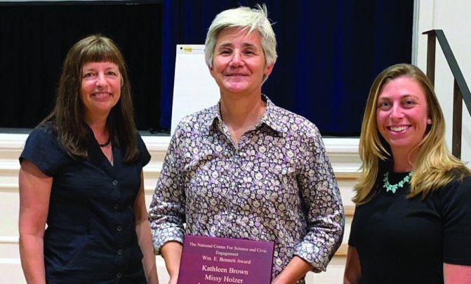 "Photo of Kathleen Browne: a ""GEM"" of Rider University"