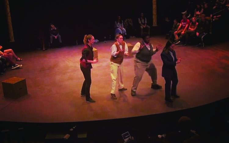 """Photo of """"Hamlet"""" immerses audience members in production"""