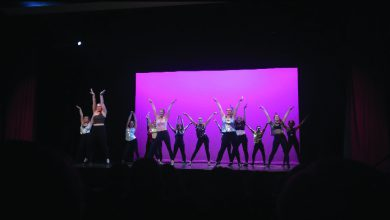 "Photo of Raising the ""barre"" with Rider Dance Ensemble"