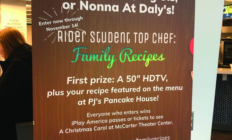 Photo of Food frenzy: Students can enter recipes for huge prizes