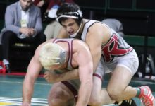 Photo of Rider routs George Mason on Senior Night