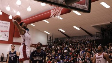 Photo of Men's Basketball vs. Monmouth photos — Feb. 28