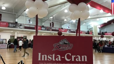 Photo of Rider welcomes prospective students at Admitted Students Day