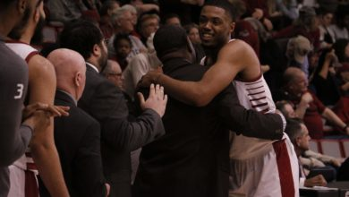 Photo of Broncs clinch bye with senior-night win