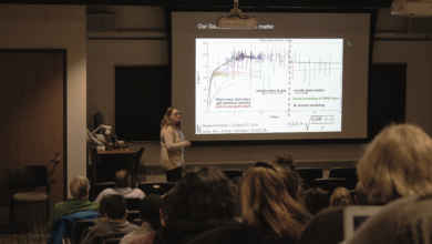 Photo of Shooting for the stars: Astrophysicist teaches lecture on building the Milky Way
