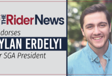 Photo of The Rider News endorses Dylan Erdelyi for SGA president