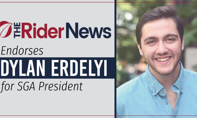 Photo of The Rider News endorses Dylan Erdelyi for SGA president