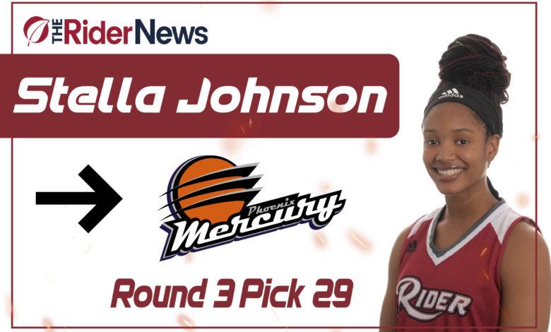 Photo of Stella Johnson selected by Phoenix Mercury in WNBA Draft