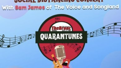 "Photo of ""Quarantunes"" concert series brings Sam James to Rider's virtual community"