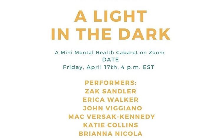 Photo of Cabaret shines a light on the topic of mental illness