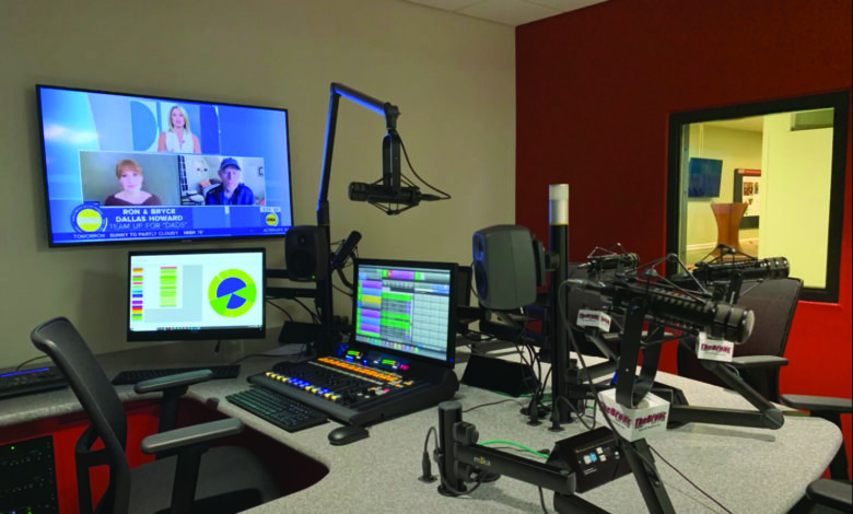 Photo of 107.7 The Bronc finds a new home in the Fine Arts Center