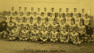 Photo of A look back at Rider football