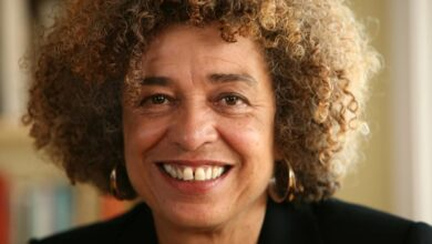 Photo of Professor Angela Davis shares views on Black Lives Matter at Rider