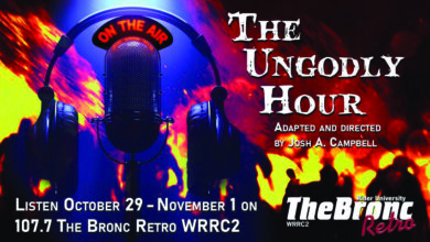Photo of 107.7 The Bronc broadcasts brand new radio play: The Ungodly Hour